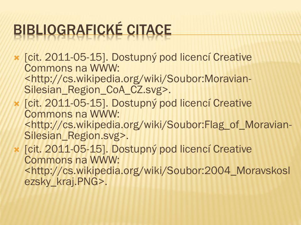  [cit. 2011-05-15]. Dostupný pod licencí Creative Commons na WWW:.