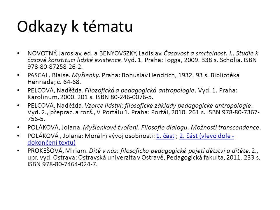 Odkazy k tématu NOVOTNÝ, Jaroslav, ed. a BENYOVSZKY, Ladislav.
