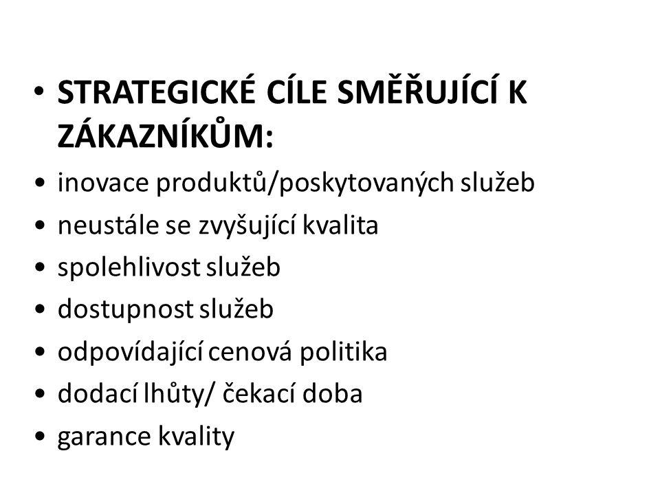 PŘEVEDENÍ VIZE Vize Strategie Měřítka Učení a růst zaměstnanců Interní procesy ZákazníciFinance Cíle Učení a růstu Interních procesů ZákaznickáFinanční Poslání a klíčové hodnoty Jak bude úspěch strategie měřen a sledován Co musíme dělat dobře, abychom implementovali naši strategii Odlišující aktivity Náš žádoucí budoucí stav