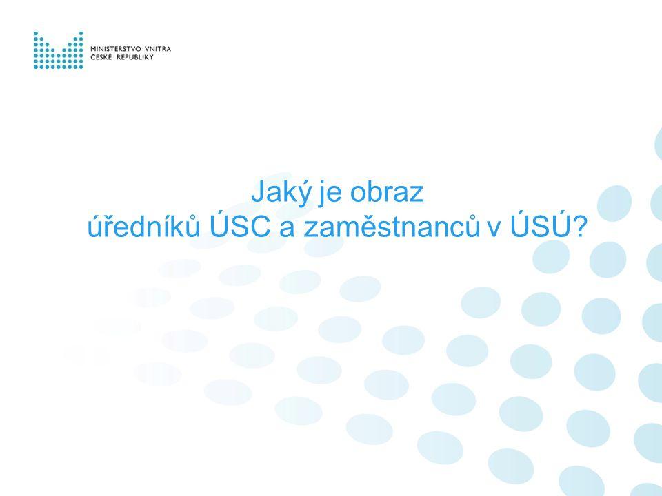 Jaký je obraz úředníků ÚSC a zaměstnanců v ÚSÚ?