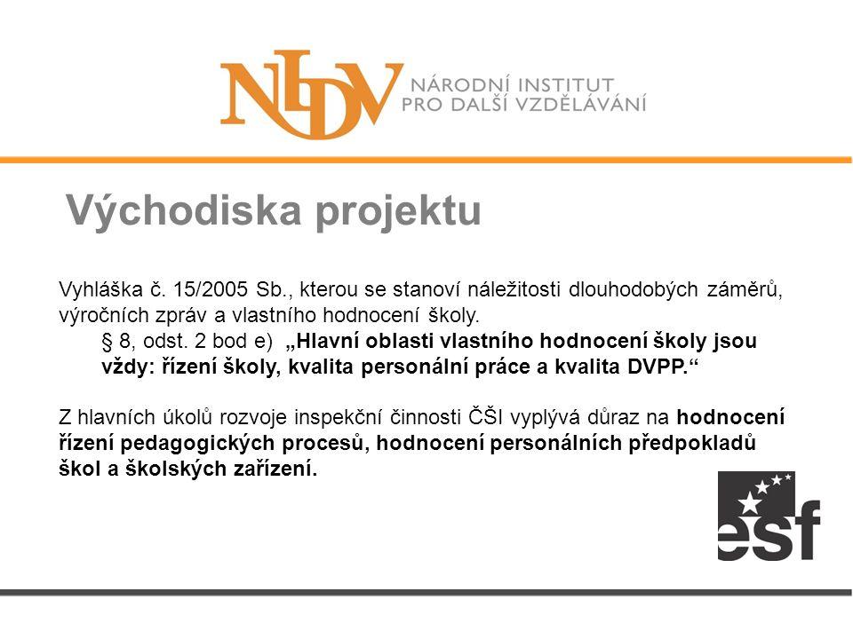 Východiska projektu Vyhláška č.