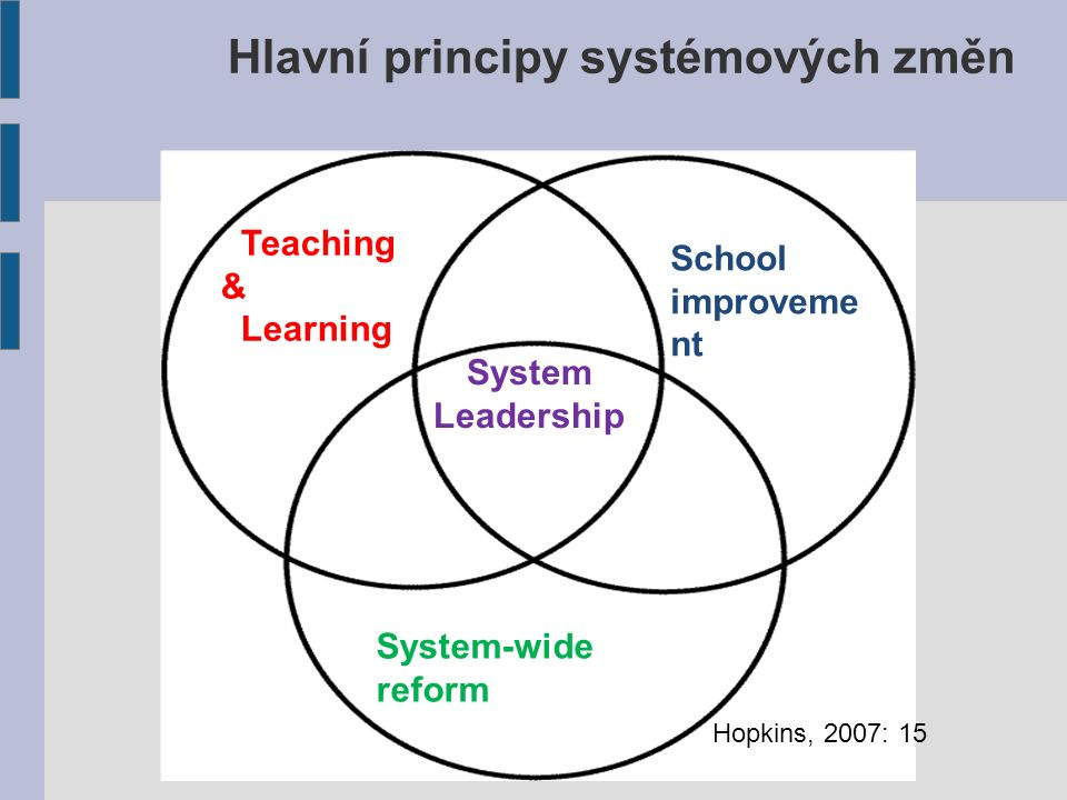 Kdo jsou systémoví lídři.