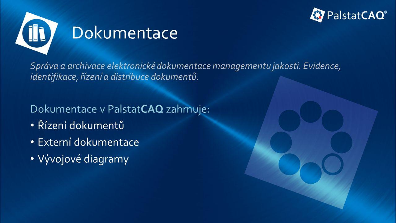 Dokumentace Správa a archivace elektronické dokumentace managementu jakosti.
