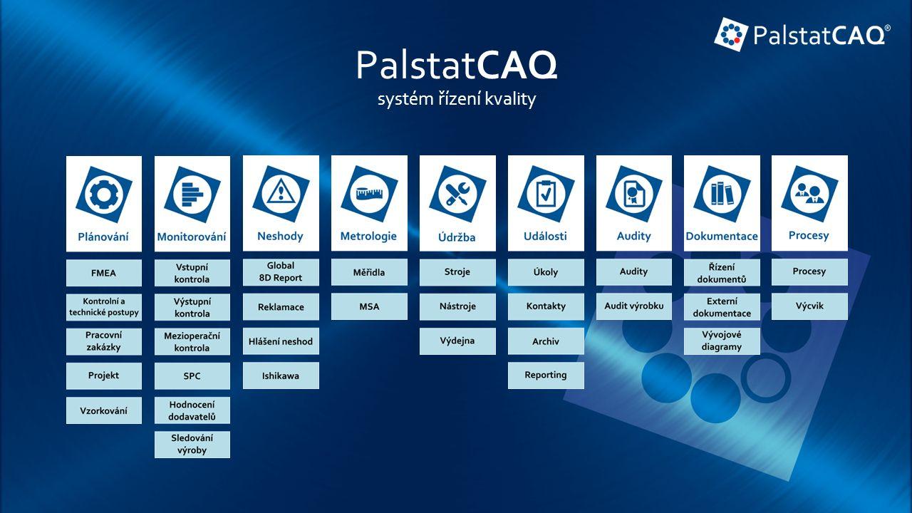 PalstatCAQ systém řízení kvality
