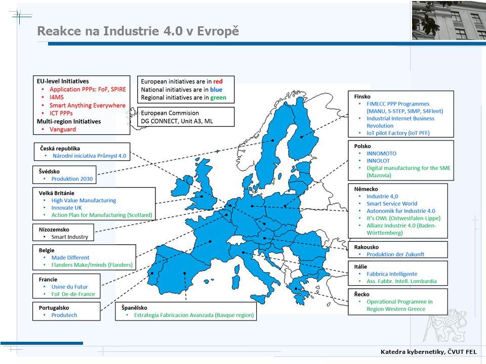 Katedra kybernetiky, ČVUT FEL Reakce na Industrie 4.0 v Evropě