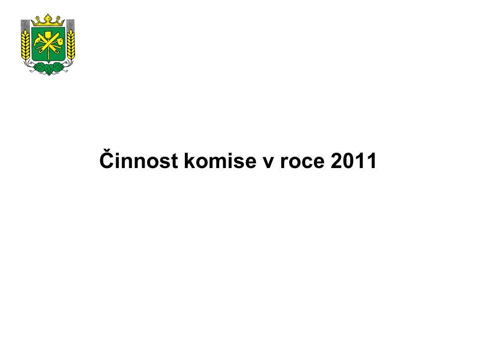 Činnost komise v roce 2011