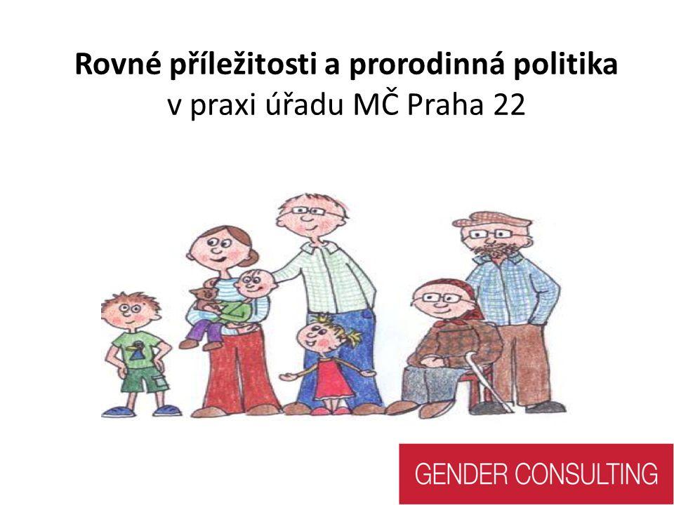 Rovné příležitosti a prorodinná politika v praxi úřadu MČ Praha 22