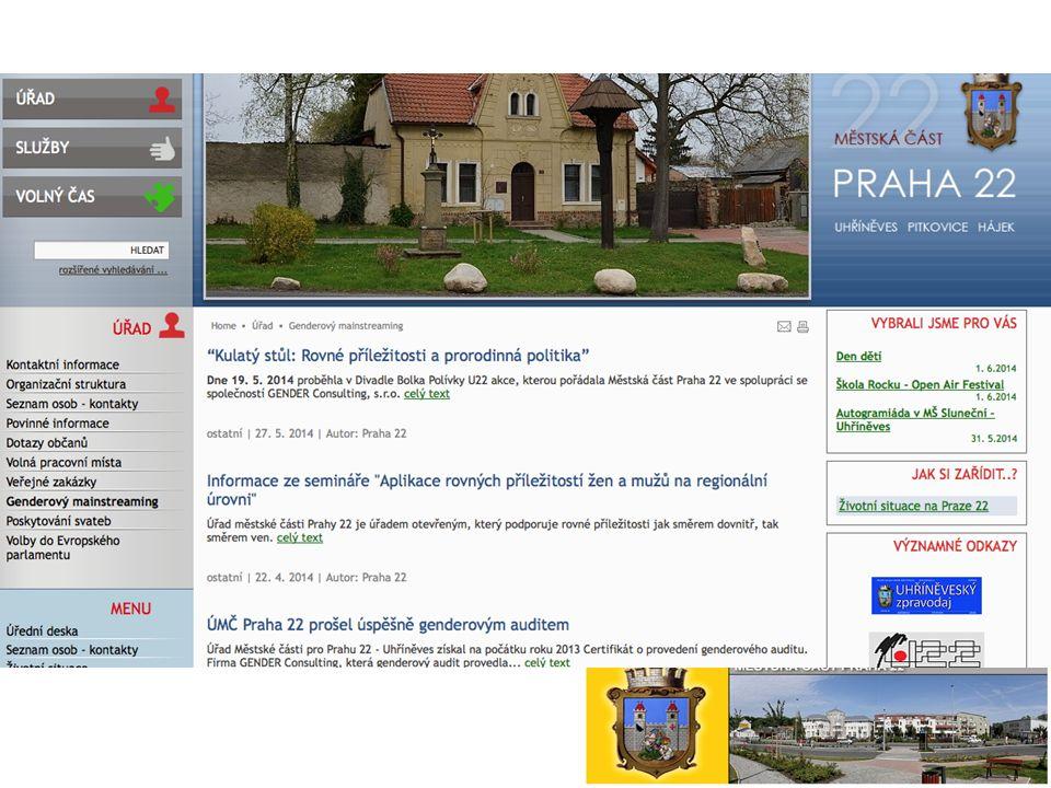 Web ÚMČ Praha 22