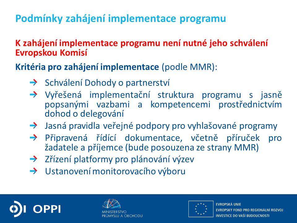 Ing. Martin Kocourek ministr průmyslu a obchodu ZPĚT NA VRCHOL – INSTITUCE, INOVACE A INFRASTRUKTURA K zahájení implementace programu není nutné jeho