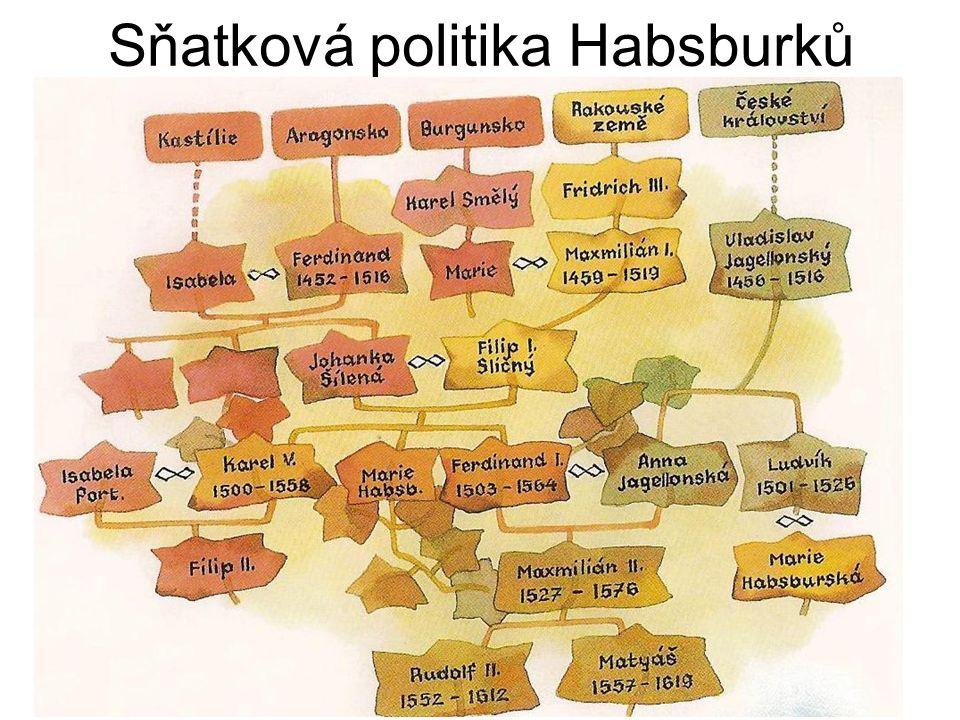 Sňatková politika Habsburků