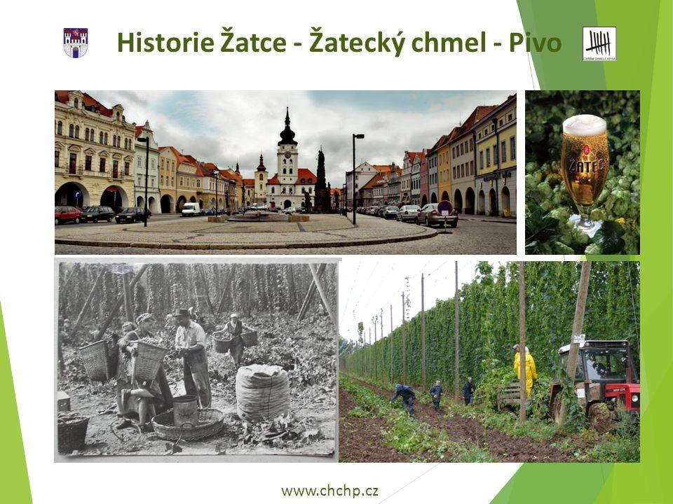 Historie Žatce - Žatecký chmel - Pivo www.chchp.cz