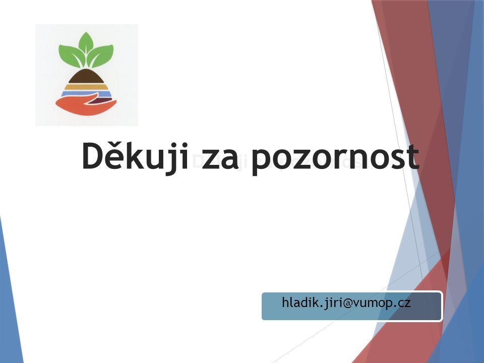 hladik.jiri@vumop.cz Děkuji za pozornost