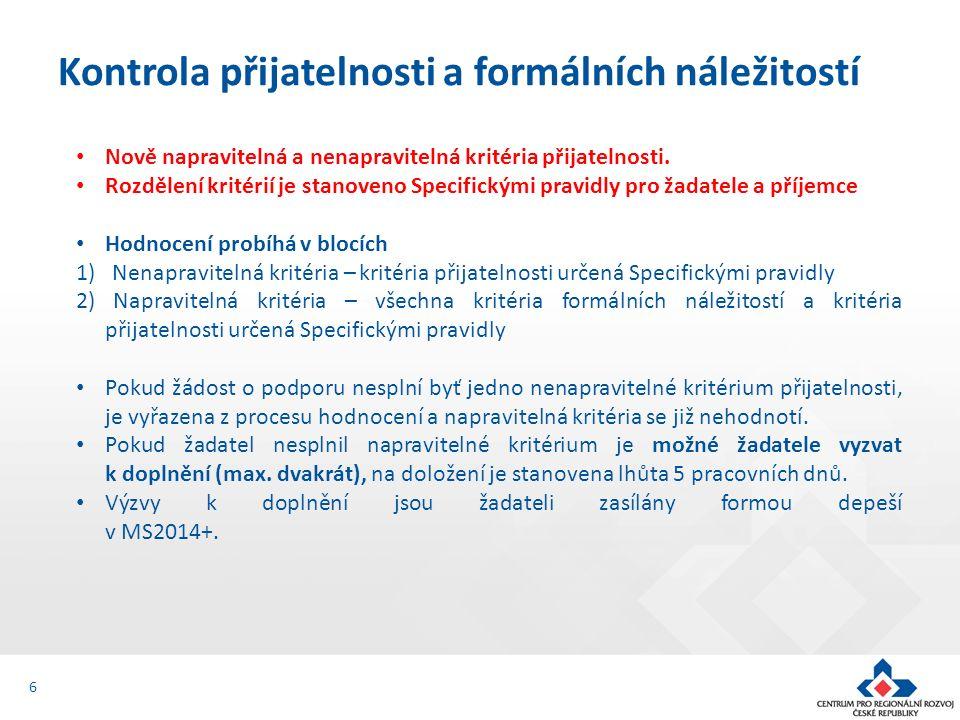 Jsou doloženy všechny povinné přílohy a obsahově splňují požadované náležitosti 12.