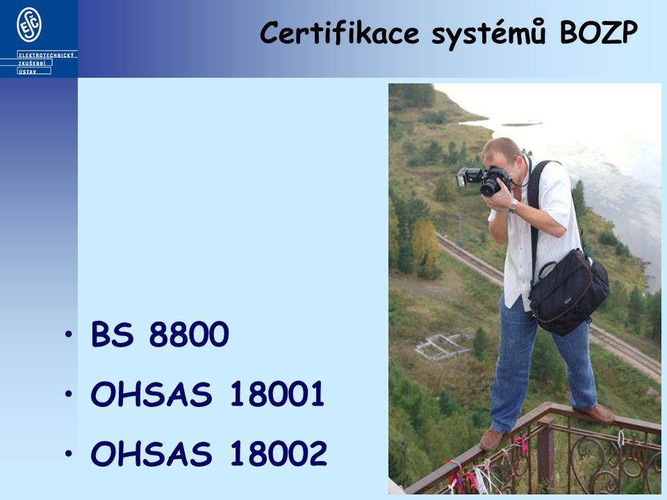 Certifikace systémů managementu bezpečnosti informací Certifikát podle ČSN BS 7799 (ISO/IEC 27001) Značka GoodPriv@cy (CQS)
