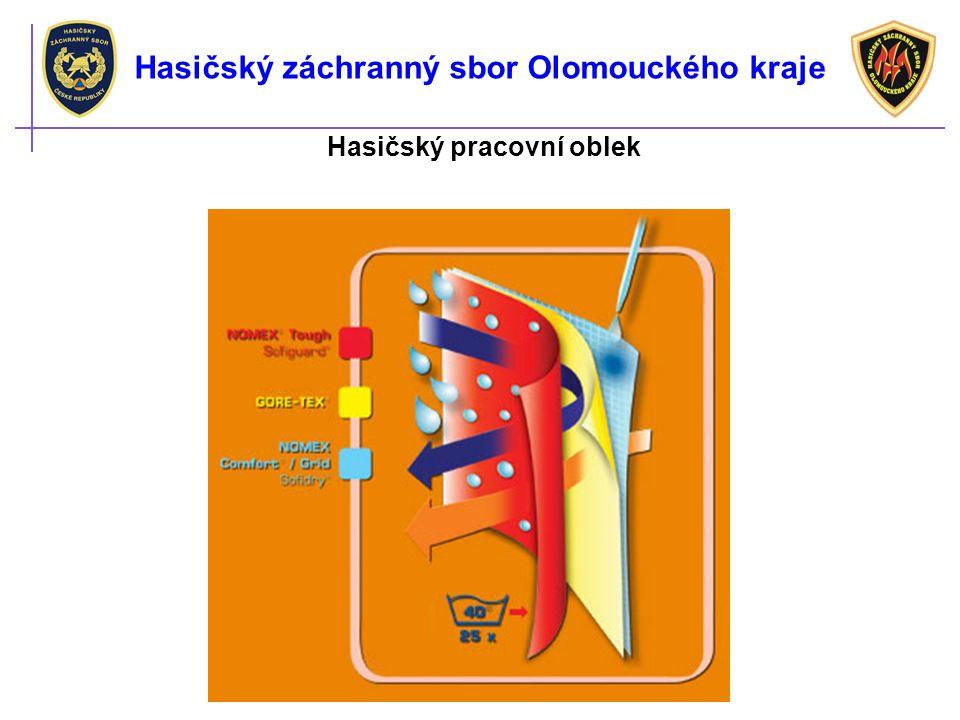 Hasičský pracovní oblek Hasičský záchranný sbor Olomouckého kraje