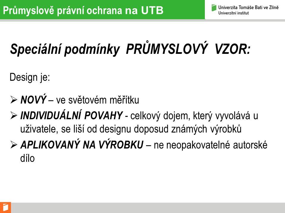 Postup řízení na UTB 2