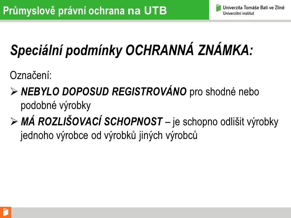 Průmyslově právní ochrana na UTB Kontakty: Centrum transferu technologií: Odborný pracovník pro patenty a ochranné známky Ing.