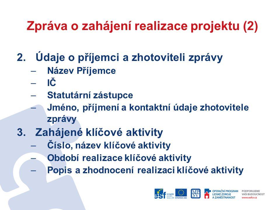 Zadavatel = příjemce nebo jeho český partner