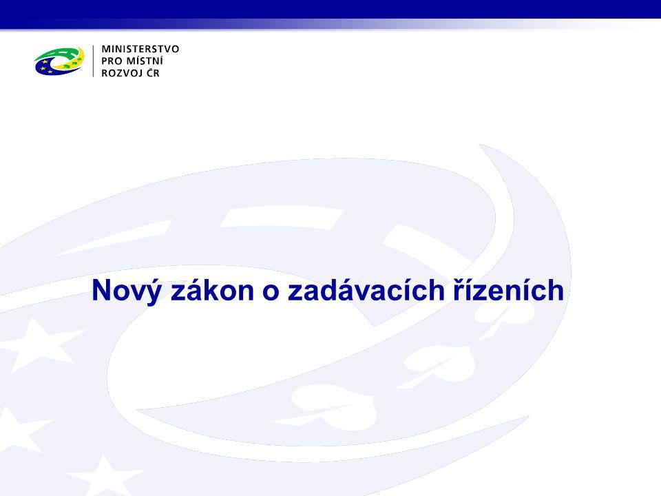 Nový zákon o zadávacích řízeních