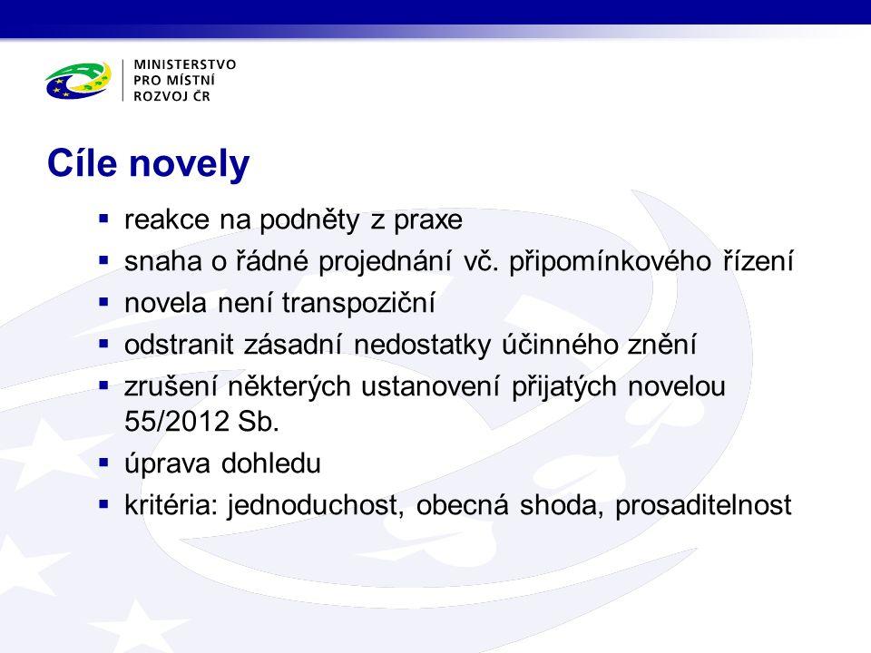 Nové směrnice  Nový druh ZŘ – Inovační partnerství  Čl.