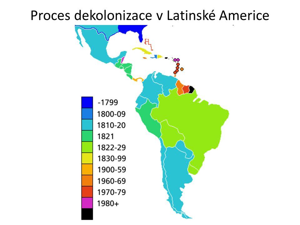 Proces dekolonizace v Latinské Americe