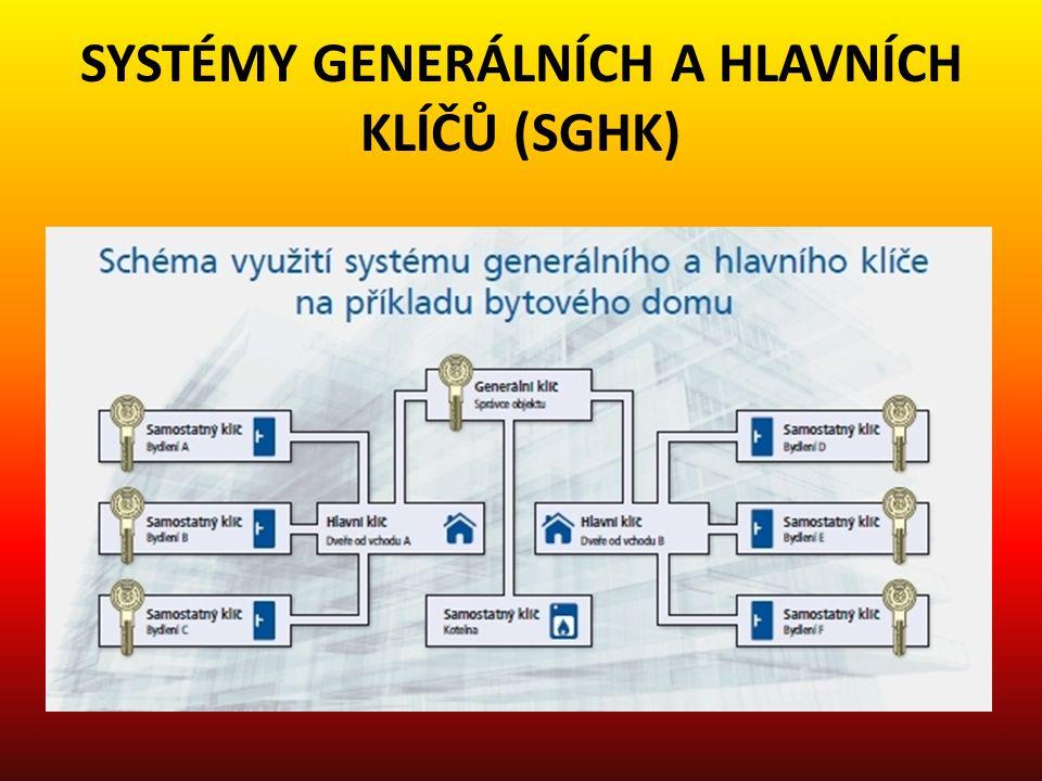 SYSTÉMY GENERÁLNÍCH A HLAVNÍCH KLÍČŮ (SGHK)