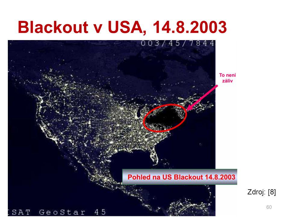 Blackout v USA, 14.8.2003 60 Zdroj: [8]