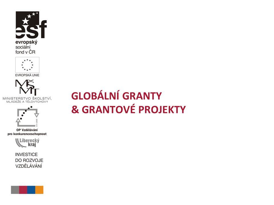GLOBÁLNÍ GRANTY & GRANTOVÉ PROJEKTY