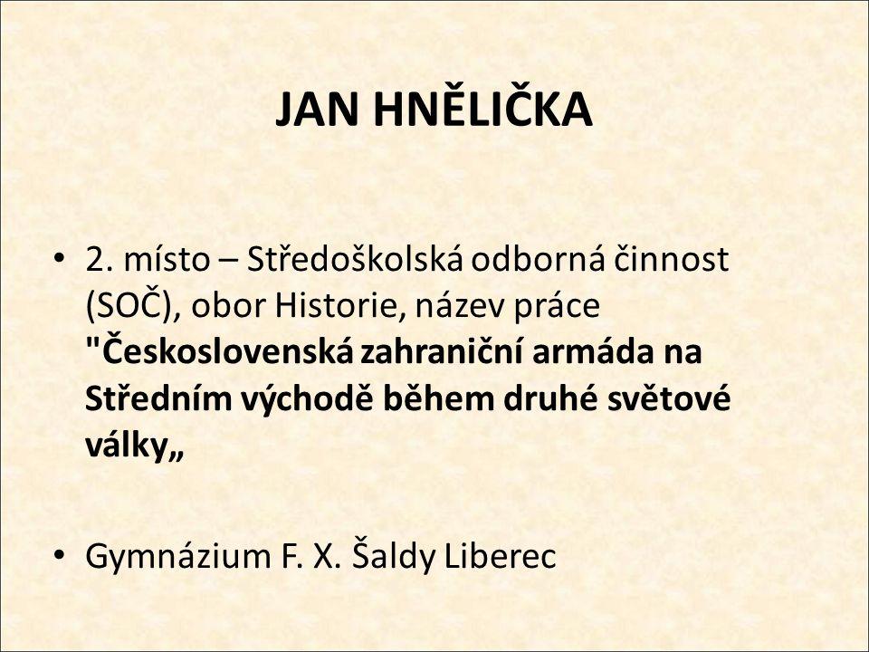 JAN HNĚLIČKA 2.