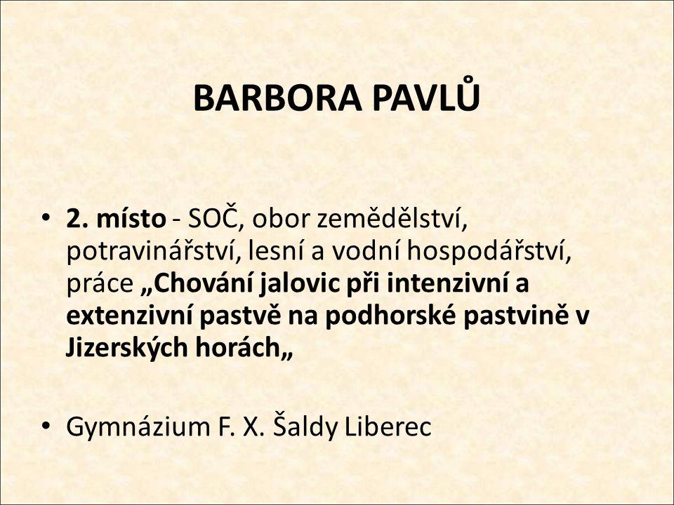 BARBORA PAVLŮ 2.