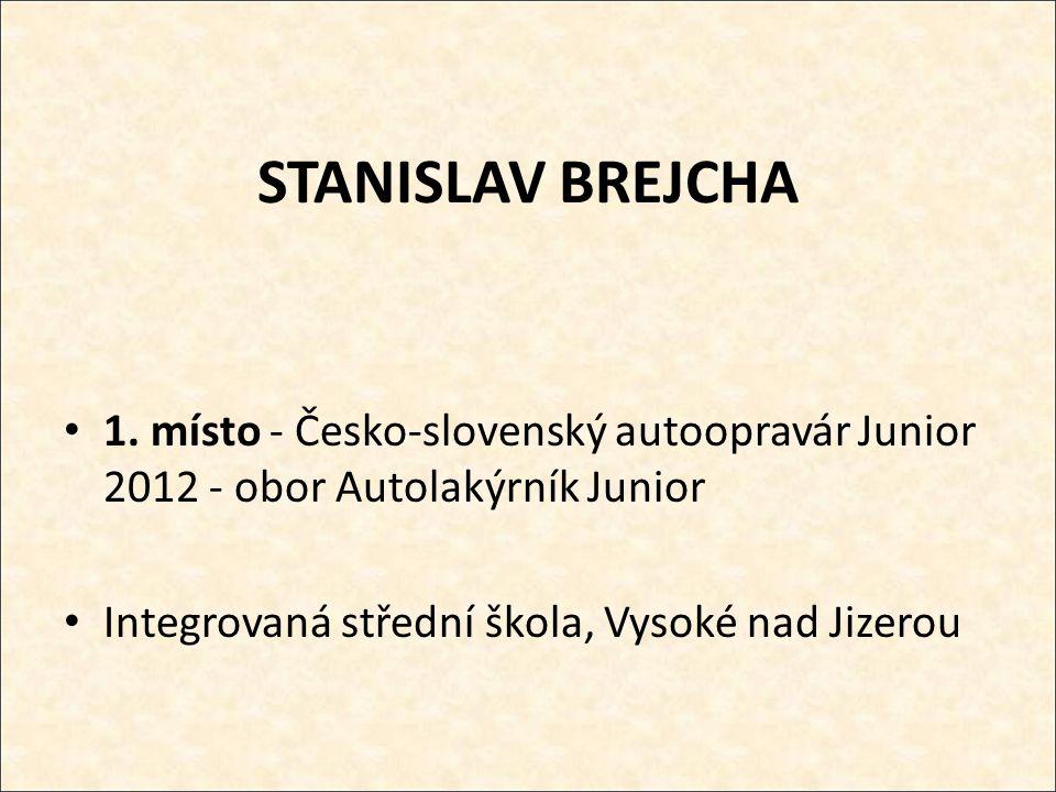 STANISLAV BREJCHA 1.