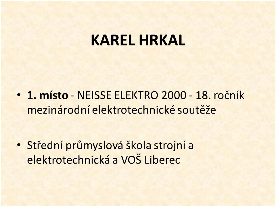 ŠÁRKA ZDYCHOVÁ 1.