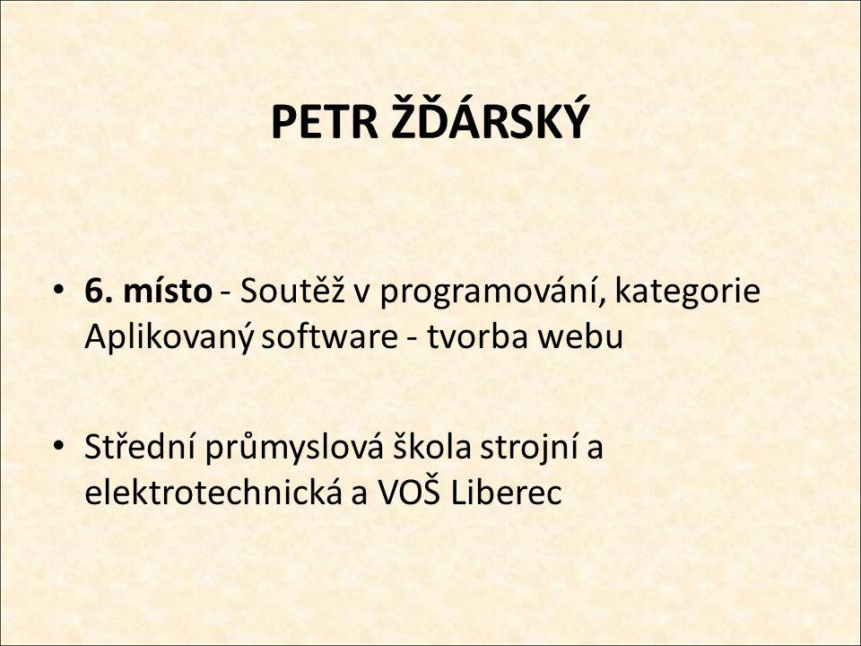 PETR ŽĎÁRSKÝ 6.