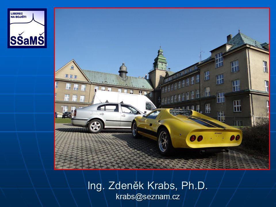 Ing. Zdeněk Krabs, Ph.D. krabs@seznam.cz