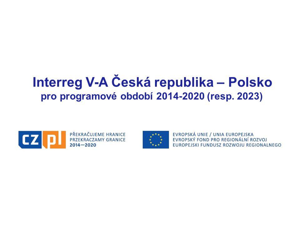 Interreg V-A Česká republika – Polsko pro programové období 2014-2020 (resp. 2023)