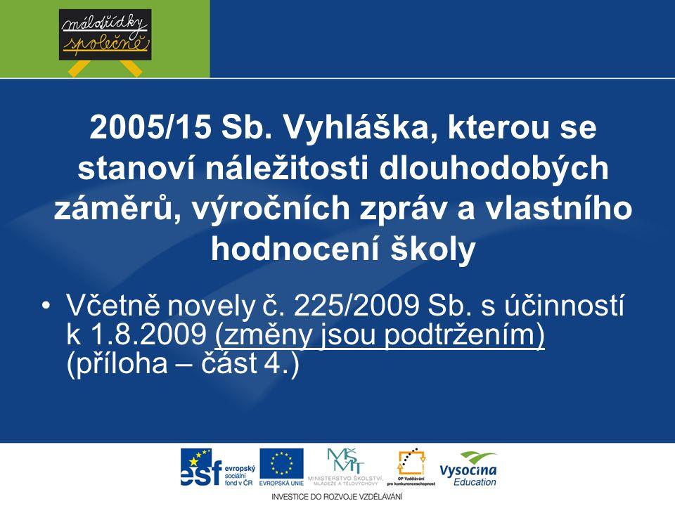 2005/15 Sb.