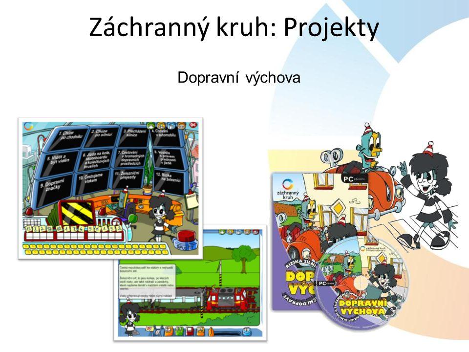 Dopravní výchova Záchranný kruh: Projekty