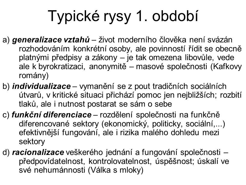 Typické rysy 1.