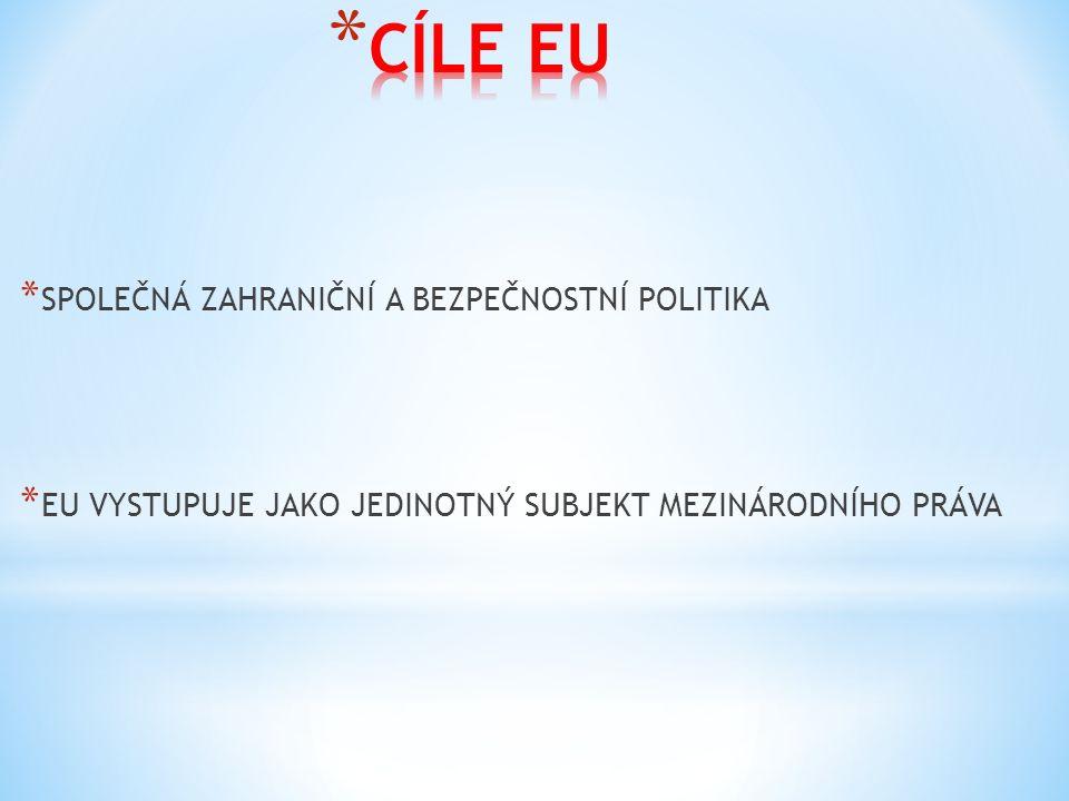 * Maastrichtská smlouva * 1992 * Nový cíl – měnová unie s jednotnou měnou * Zvýšení hospodářských kritérií pro nově příchozí země * Posílení vnitřní hospodářské integrace * Umožnila vstup Švédska, Rakouska, Finska * Amsterodamská smlouva * 1997 * Cíl vytvoření politické unie a dosažení společné zahraniční politiky * Sladění sociálních systémů členských zemí * Základy evropského občanství