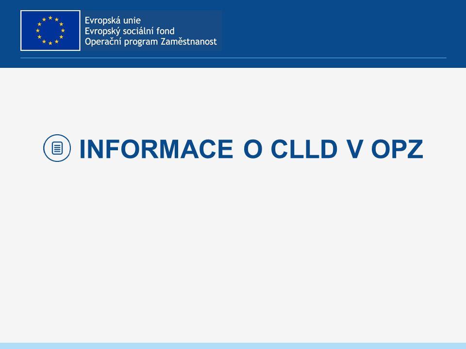 INFORMACE O CLLD V OPZ