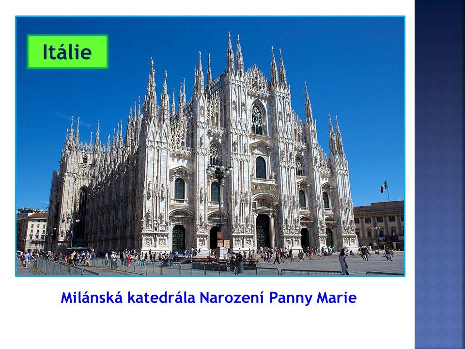 Milánská katedrála Narození Panny Marie Itálie