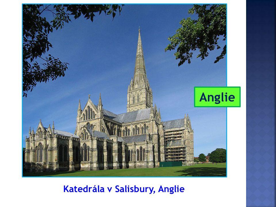 Katedrála v Salisbury, Anglie Anglie