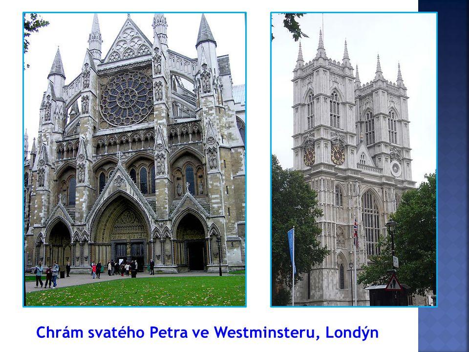 Chrám svatého Petra ve Westminsteru, Londýn