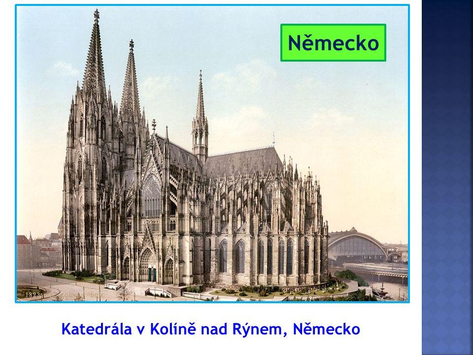 Katedrála v Kolíně nad Rýnem, Německo Německo