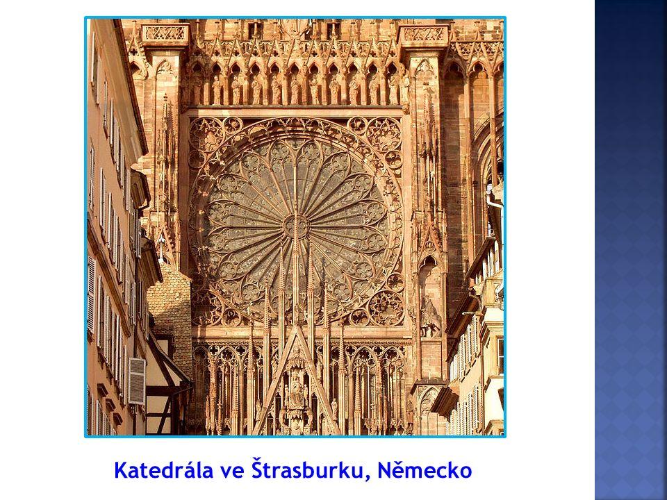 Katedrála ve Štrasburku, Německo