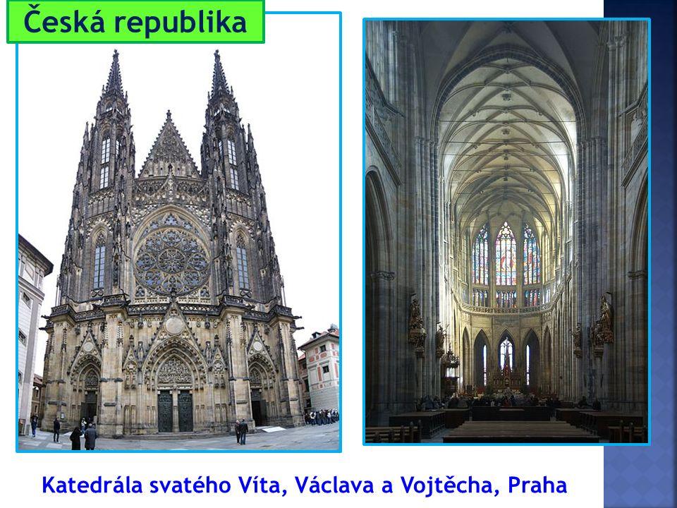 Katedrála svatého Víta, Václava a Vojtěcha, Praha Česká republika