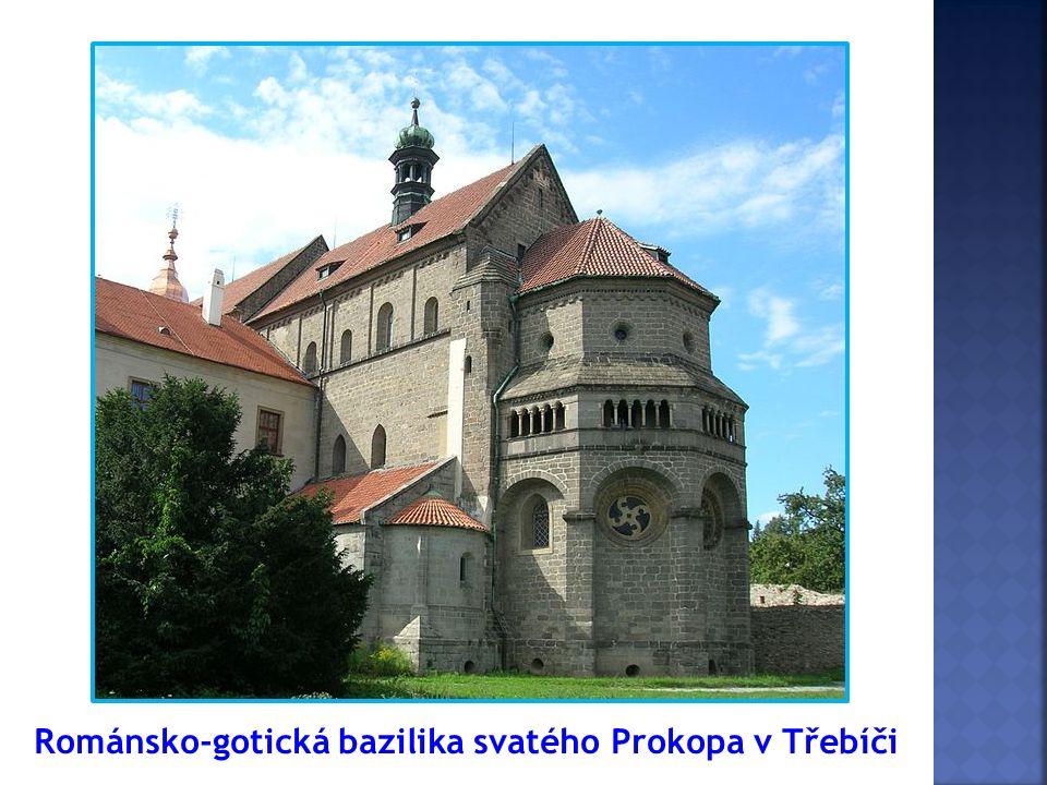 Románsko-gotická bazilika svatého Prokopa v Třebíči