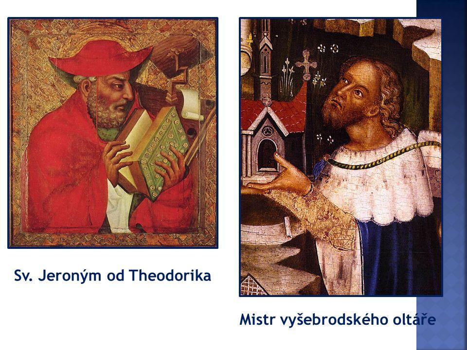 Sv. Jeroným od Theodorika Mistr vyšebrodského oltáře