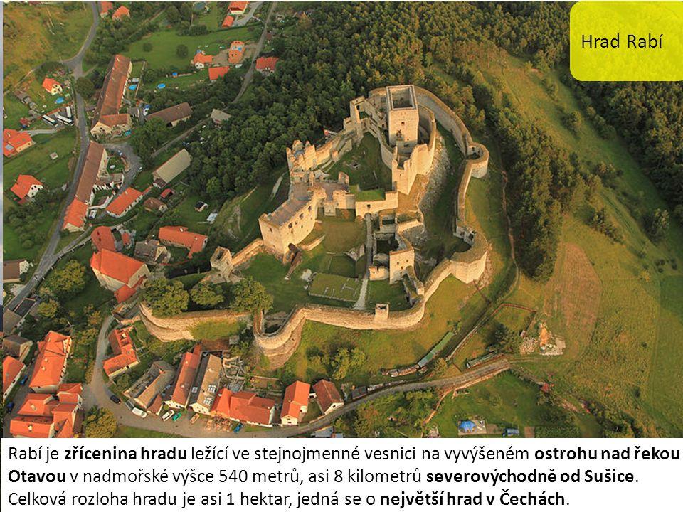 Hrad Rabí Rabí je zřícenina hradu ležící ve stejnojmenné vesnici na vyvýšeném ostrohu nad řekou Otavou v nadmořské výšce 540 metrů, asi 8 kilometrů severovýchodně od Sušice.