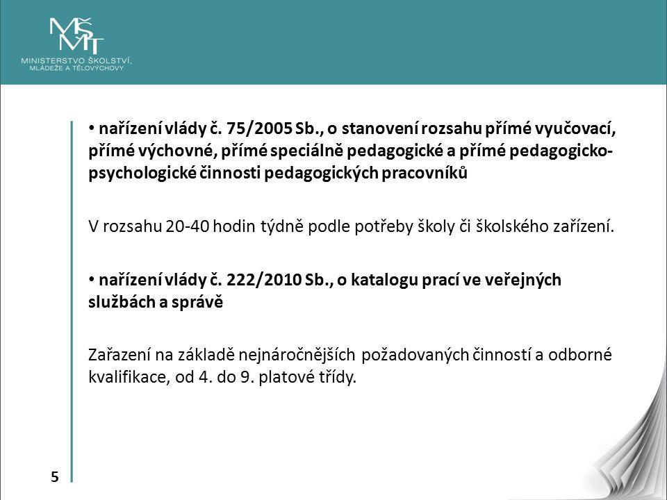 5 nařízení vlády č.